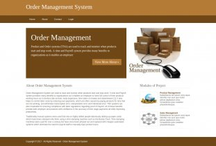 Python, Django and MySQL Project on Order Management System