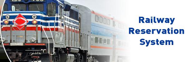 Java, JSP and MySQL Project on Railway Reservation System