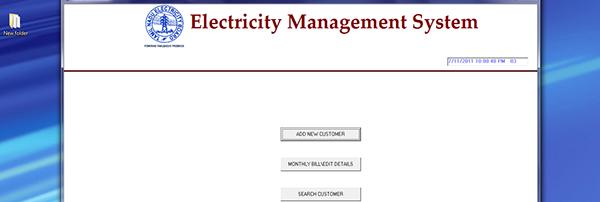 JSP, Java Project on Electricity Billing System with MySQL Database.