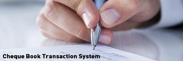 Cheque Book Transaction System Project in Java, JSP and MySQL