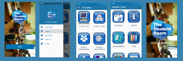 Android Project on Student Assignment Portal Android App