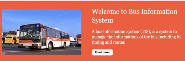 Python, Django and MySQL Project on Bus Information System