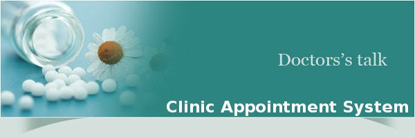 PHP and MySQL Project on Clinic Appointment System