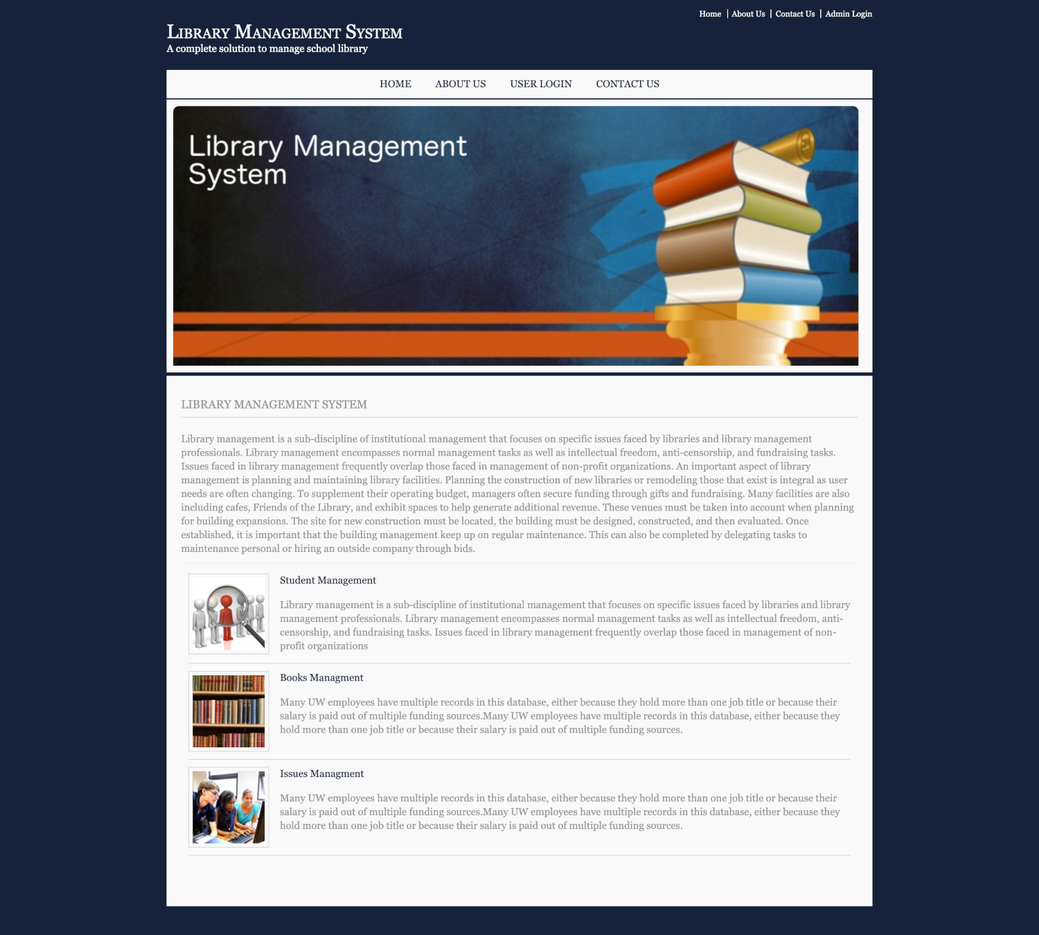 Library Management System Dbms Java And Mysql Mini Project