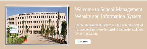 HTML, CSS and JavaScript Project on School System